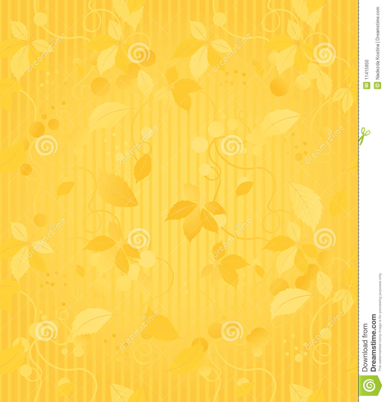 Elegant Seamless Wallpaper With A Leafy Design Curtain Patterns Texture