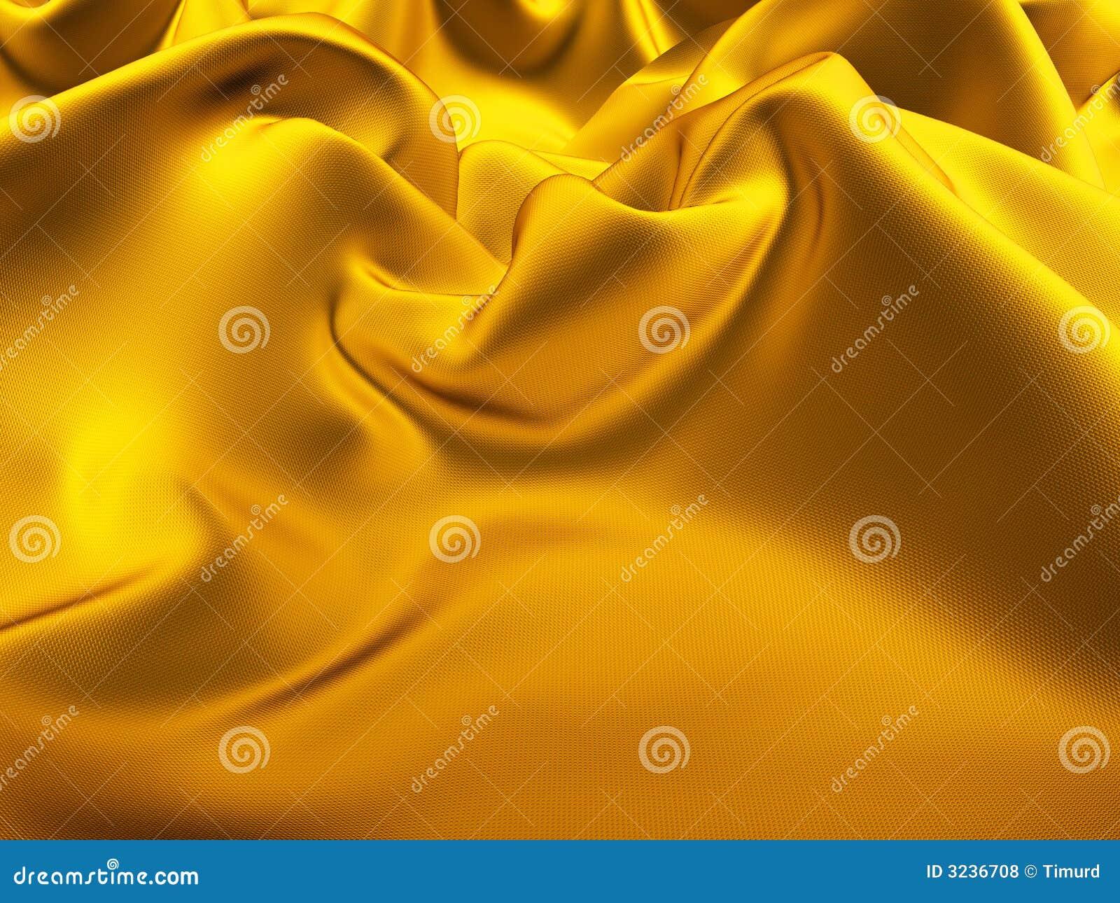 Gold silk