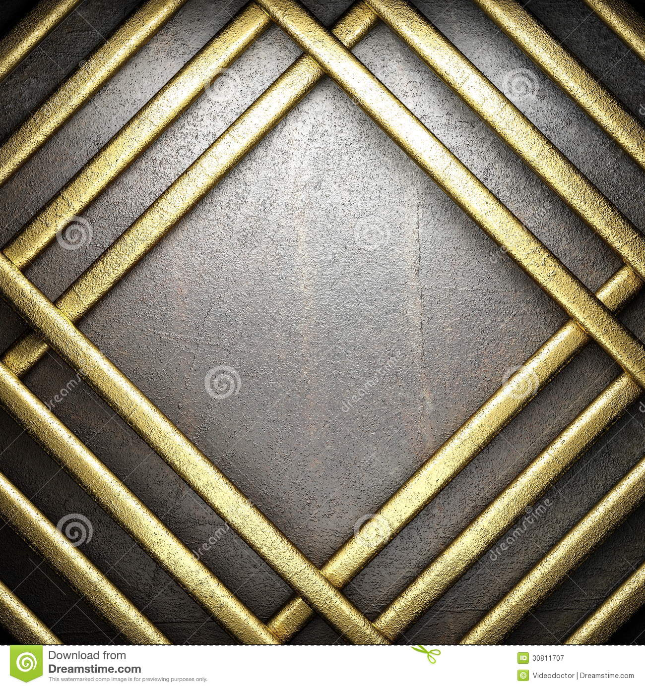 Gold And Silver Background Royalty Free Stock Photography