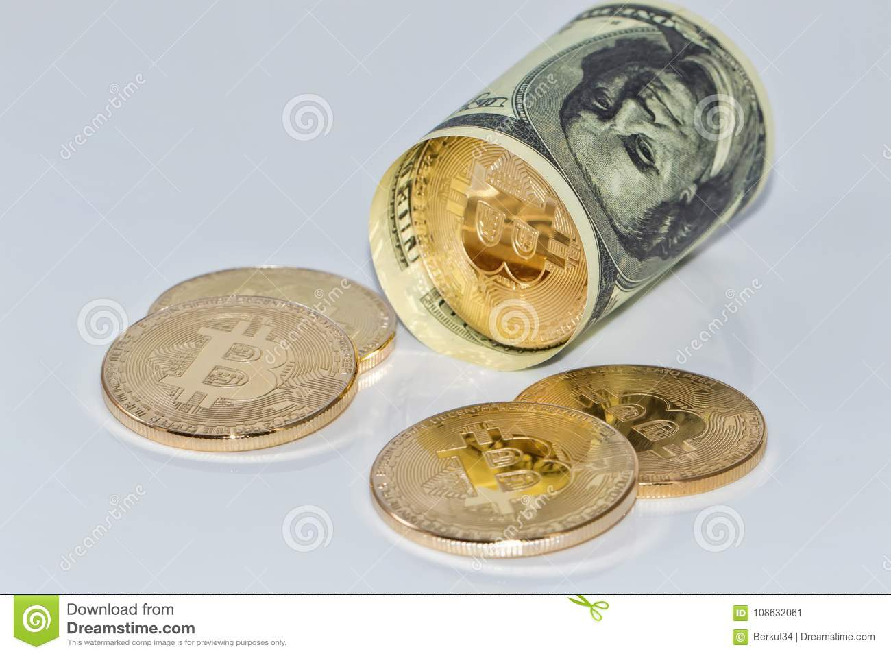 Exchange bitcoin for real money