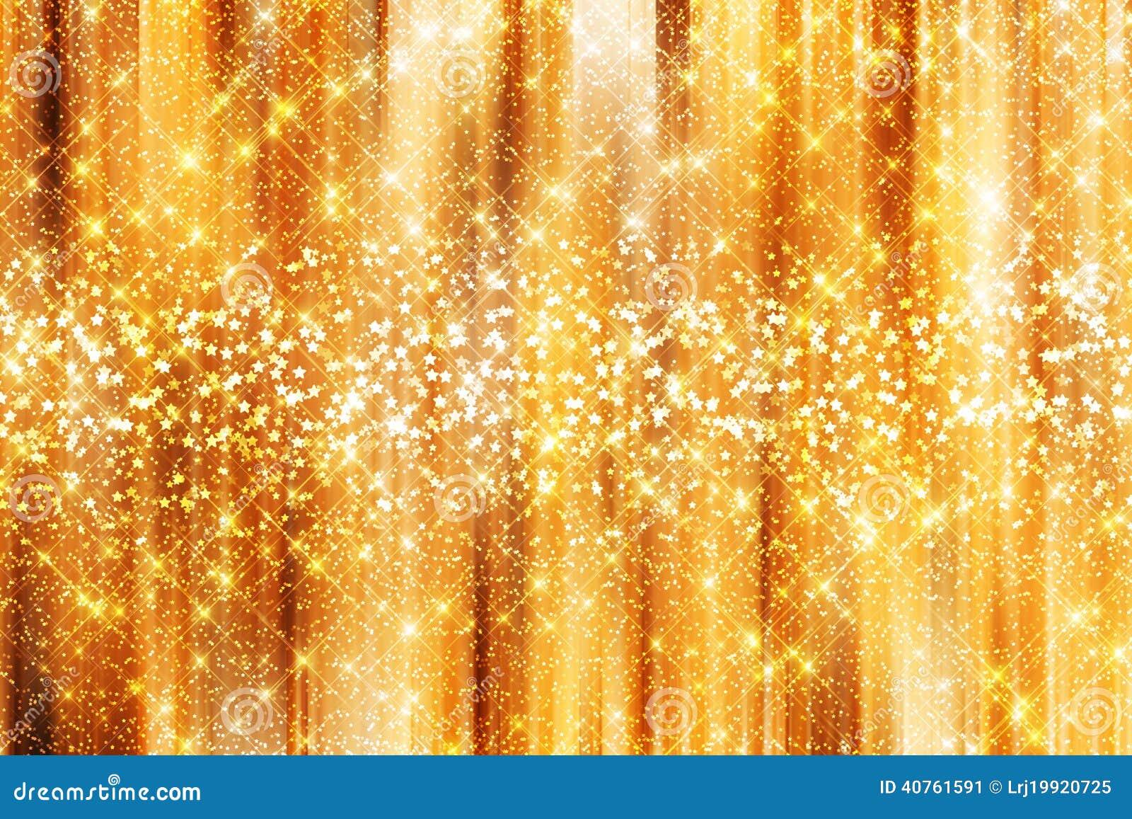 Gold Sparkle Background Stock Photo - Image: 40761591