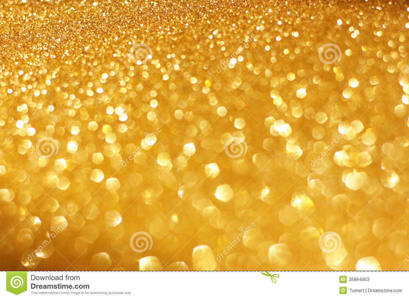 Silver and golden background of defocused abstract lights bokeh - Gold Spring Or Summer Background Elegant Abstract