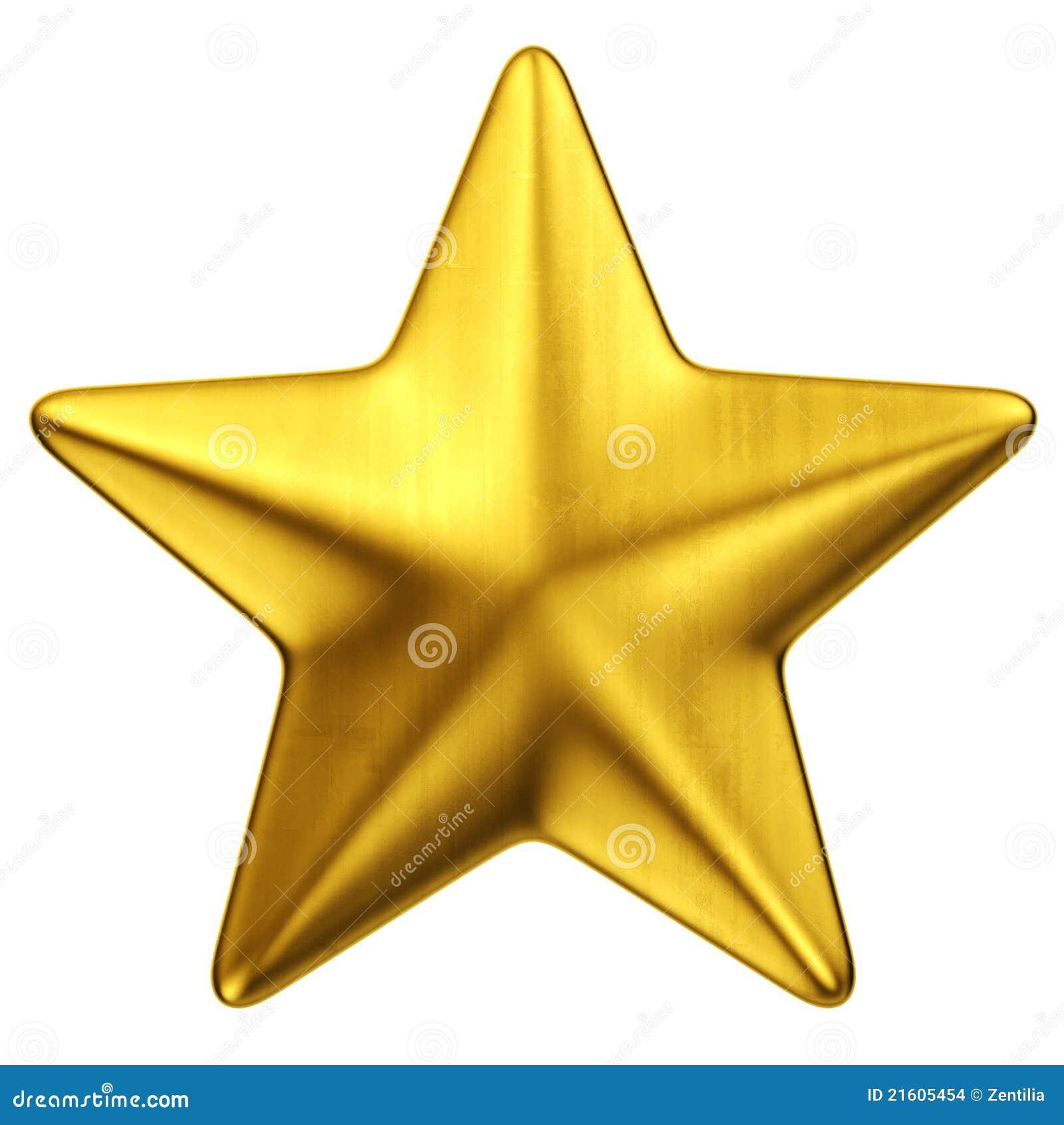 Shining Gold Star Clipart 3d golden star stock illustrations, vectors ...