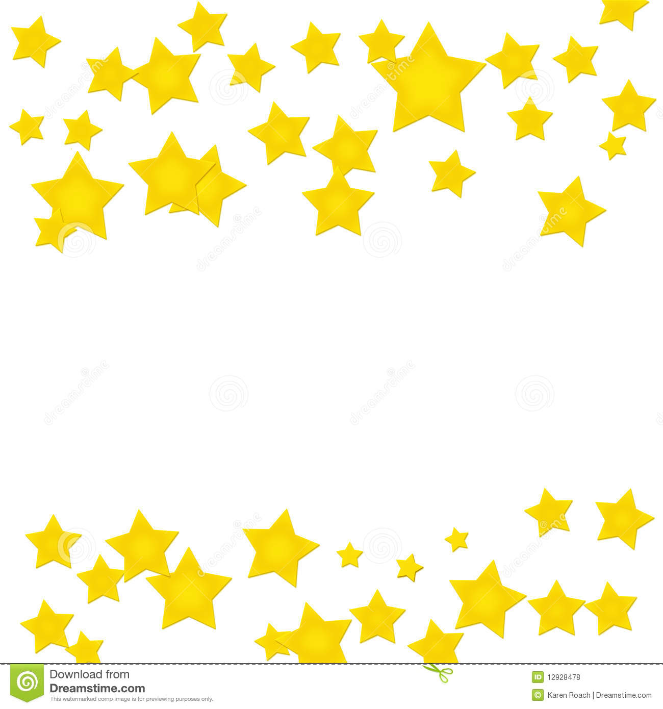 gold star border stock photo image of good frame isolated 12928478 rh dreamstime com