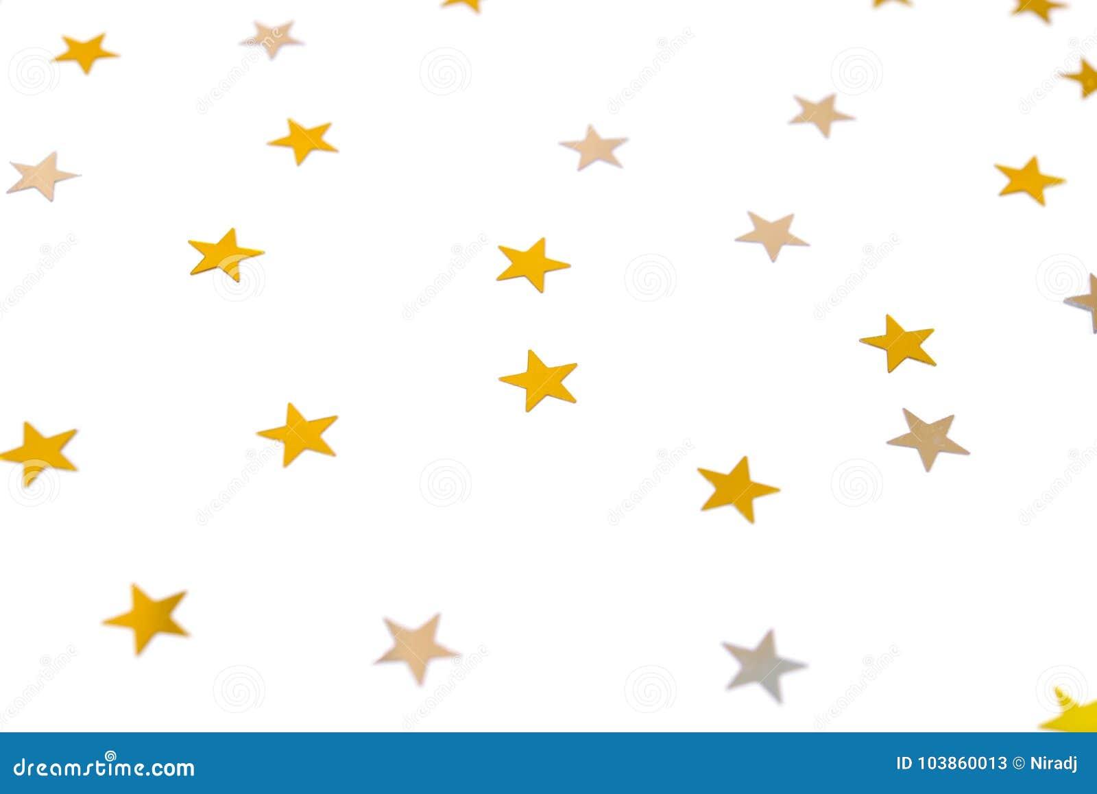 gold star confetti stock image image of golden light 103860013 rh dreamstime com Confetti Heart Border Free Clip Free Unicorn Clip Art