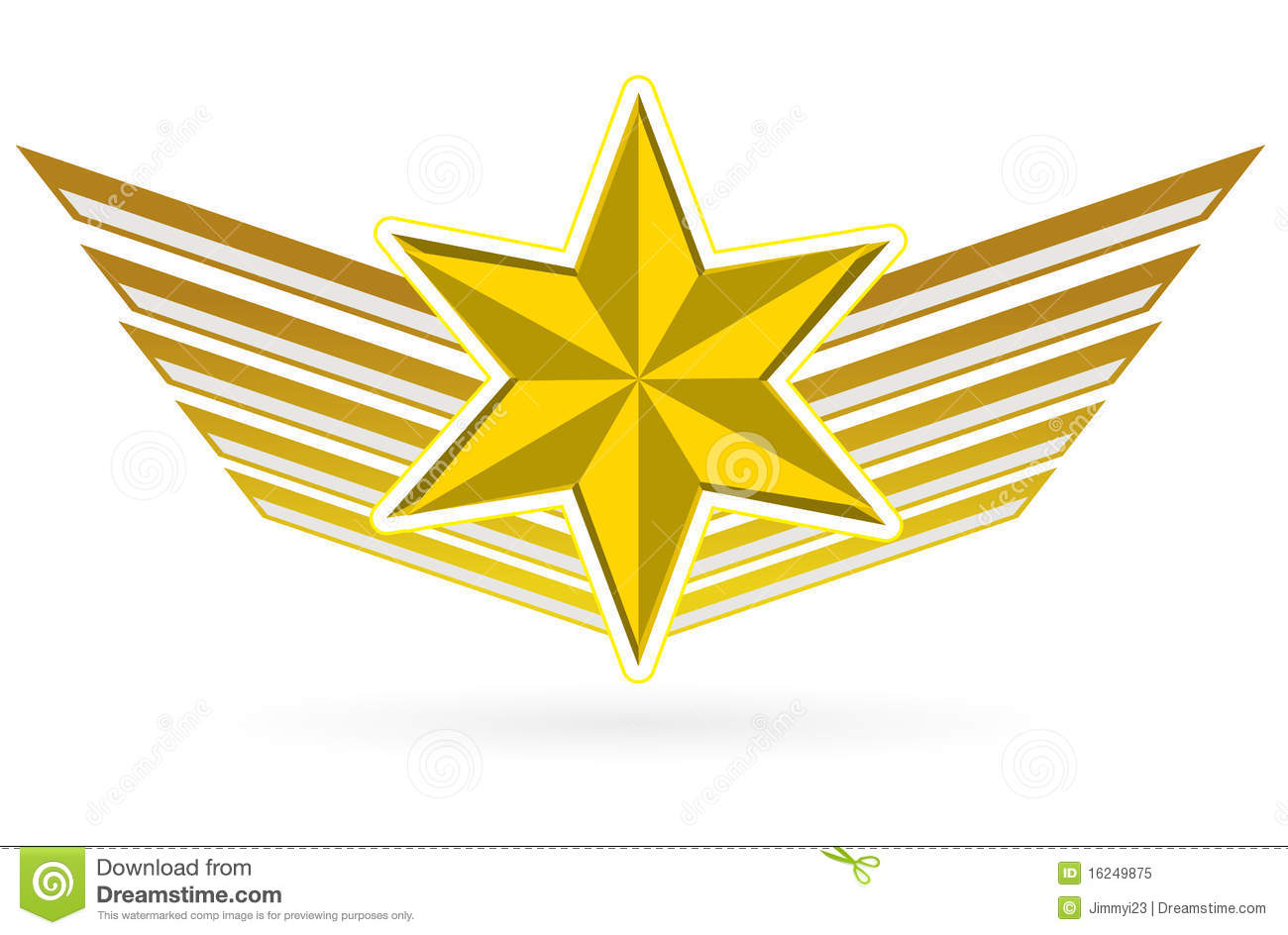 the gold star wing ele...