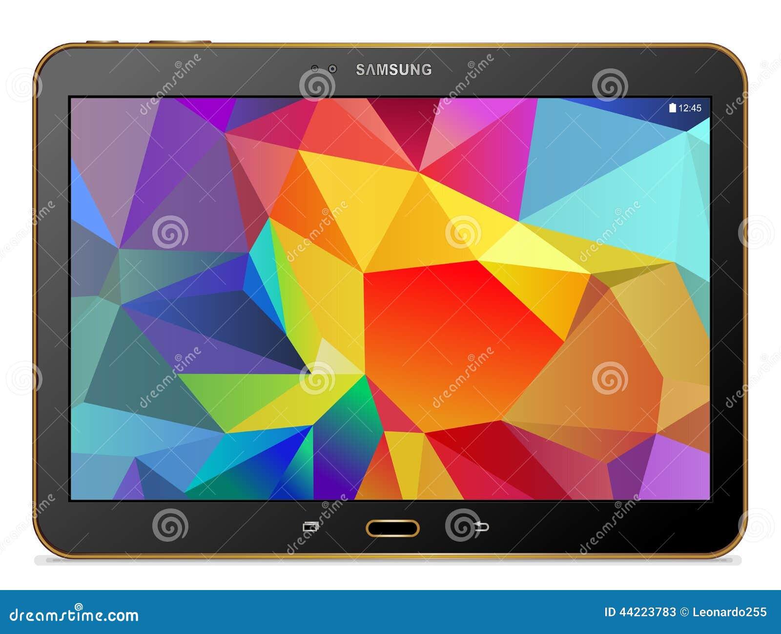 Gold Tablet-Samsungs-Galaxie Vorsprunges S