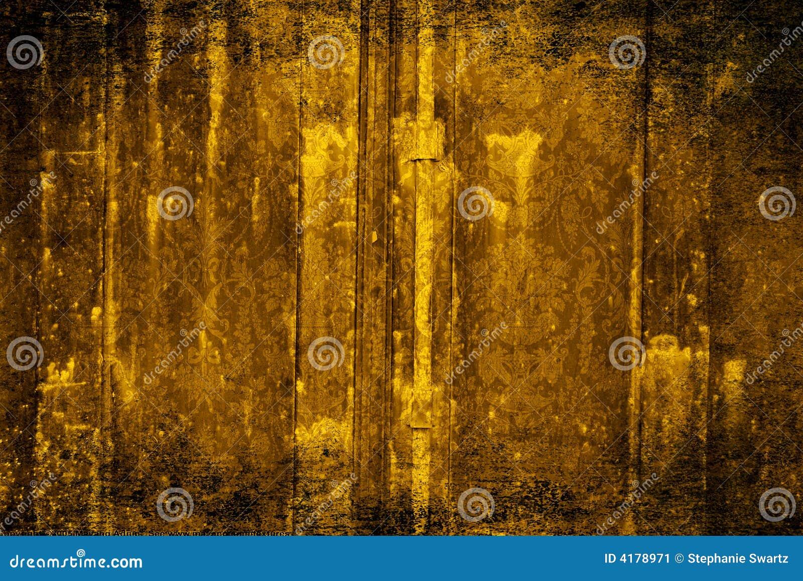 Gold Velvet Wallpaper Stock Illustration Illustration Of