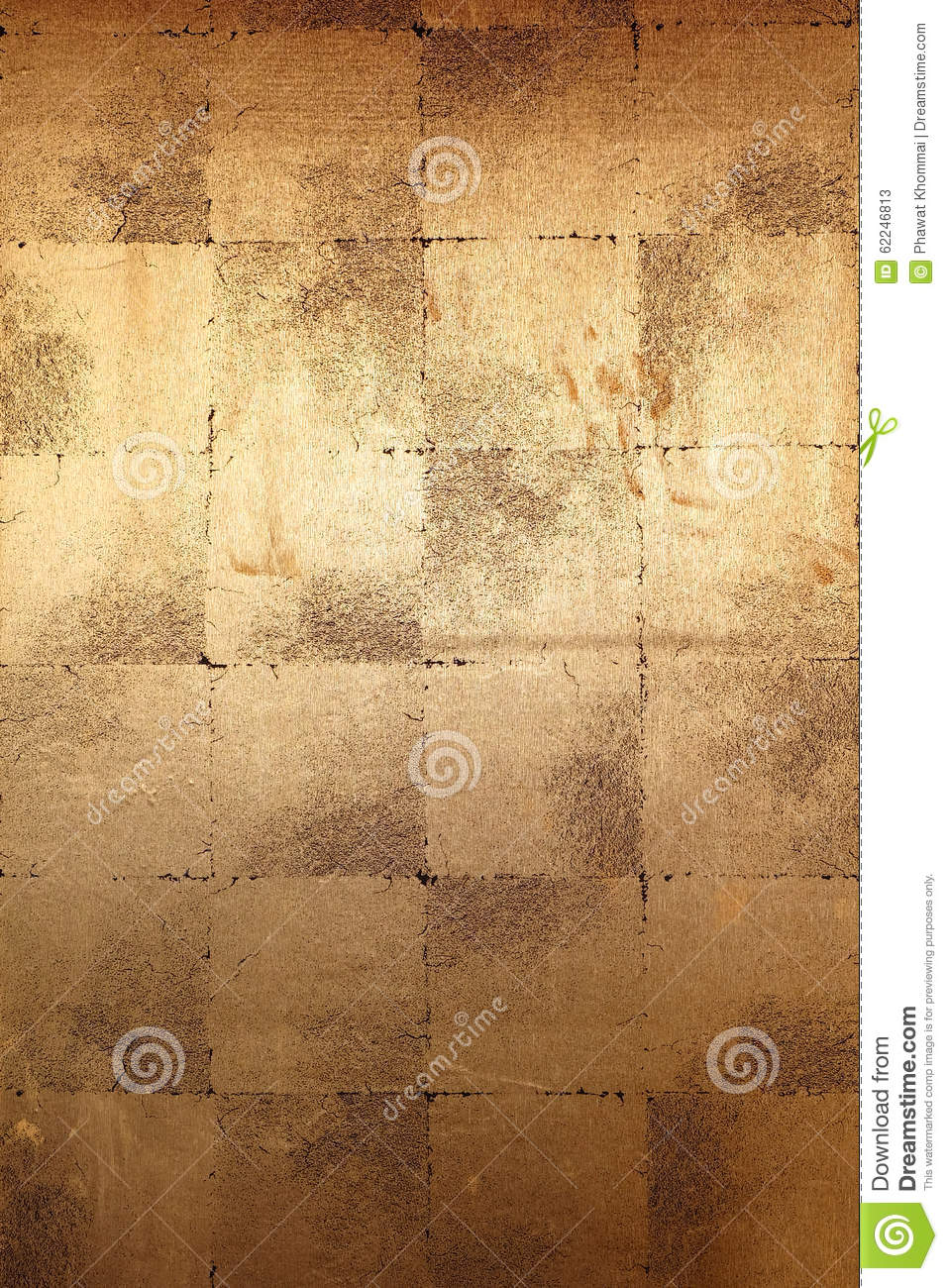 Gold wall background stock image. Image of abstract, metal - 62246813