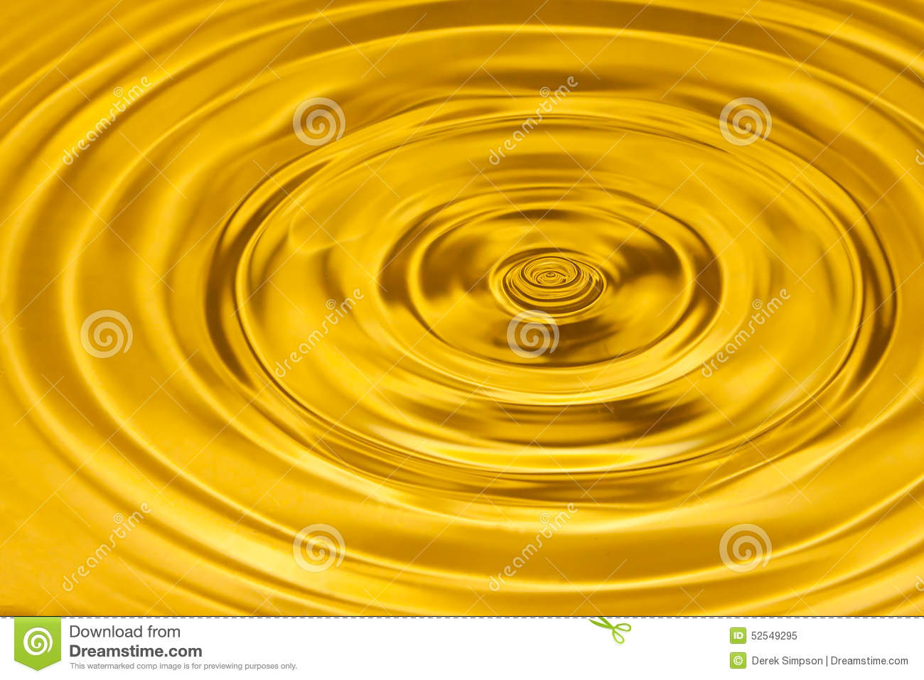 Gold Water Texture Royalty Free Stock Photography - Image: 4759577