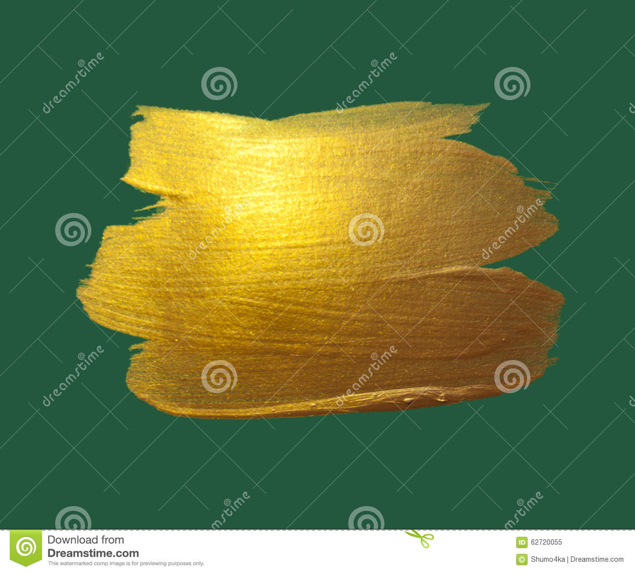 Smooth gold foil background