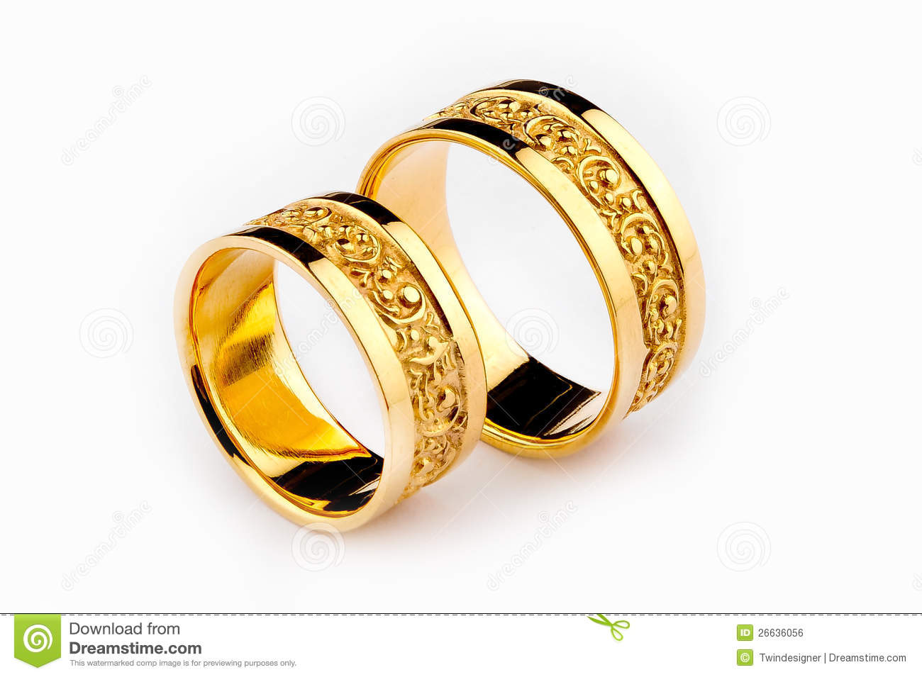gold wedding rings royalty free stock image - Wedding Rings Pictures