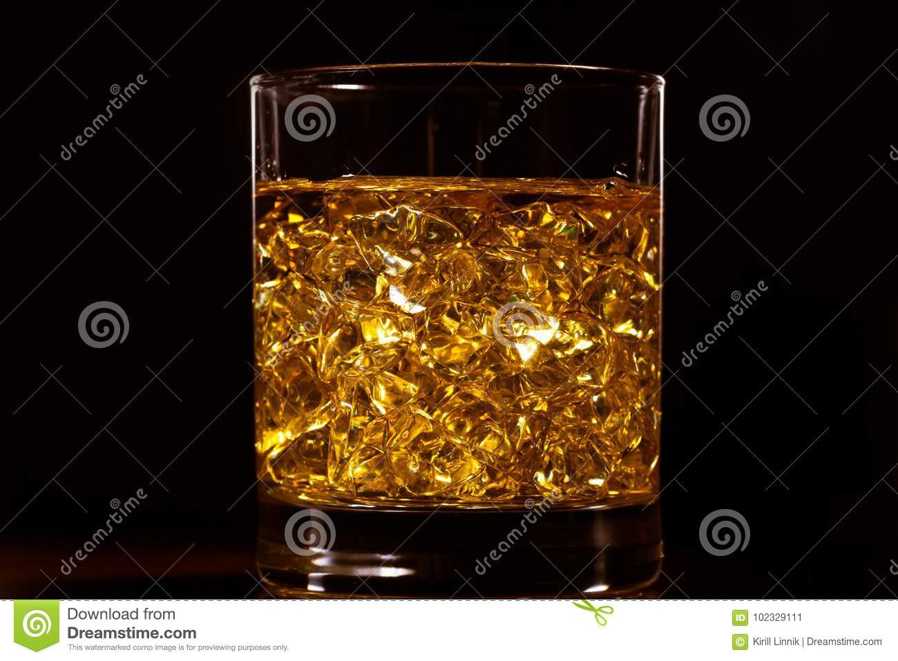 Download The gold of whiskey stock image. Image of alcohol, relaxation - 102329111