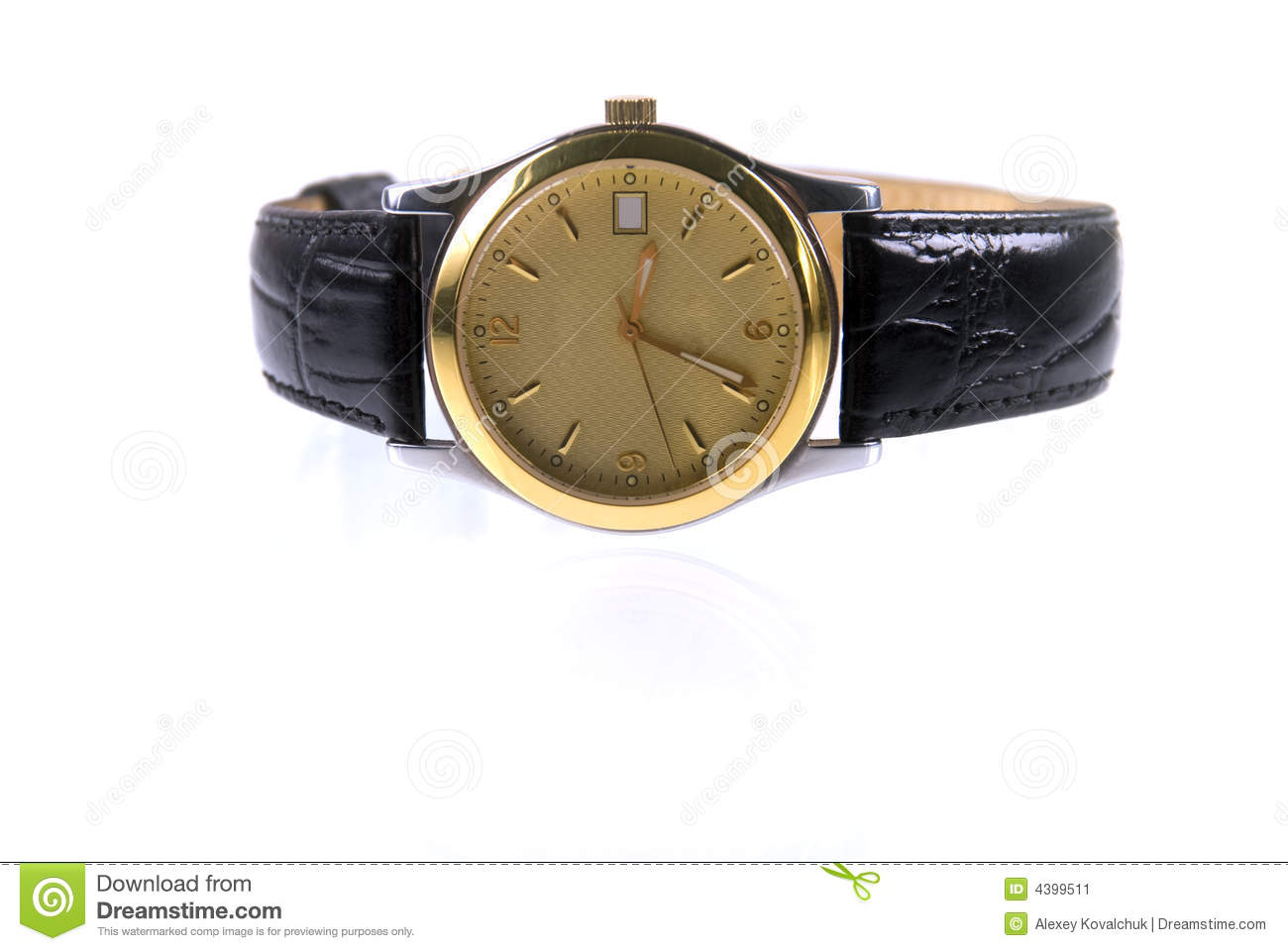 gold wrist watches stock image image 4399511