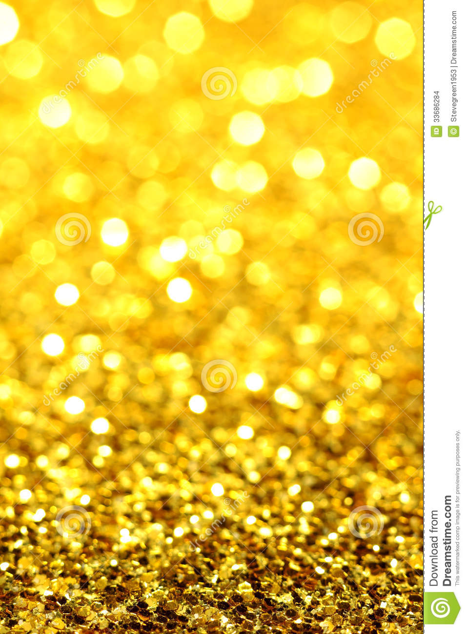 goldyellow glitter stock images image 33686284