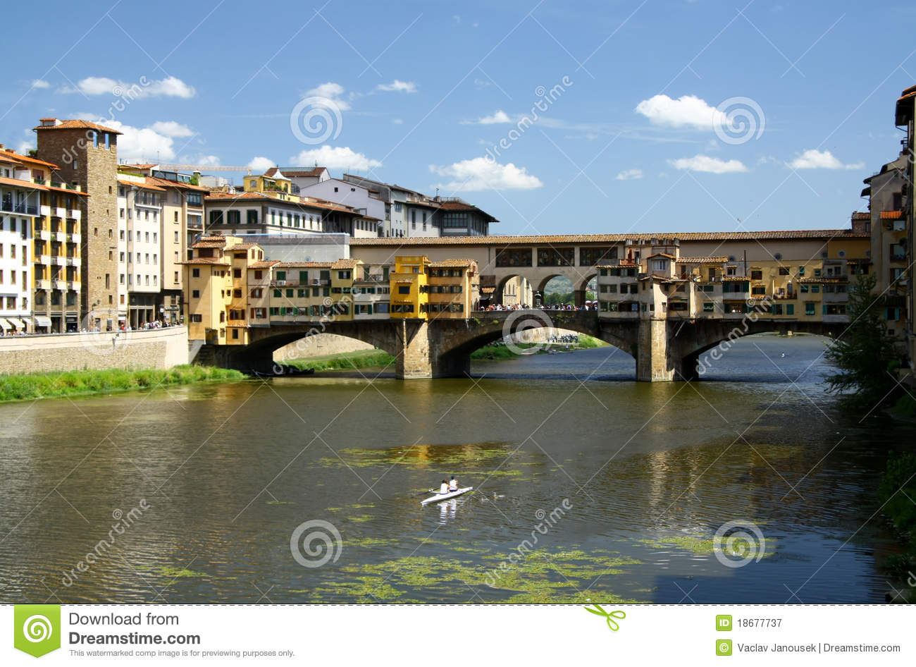 Goldbrücke in Firenze