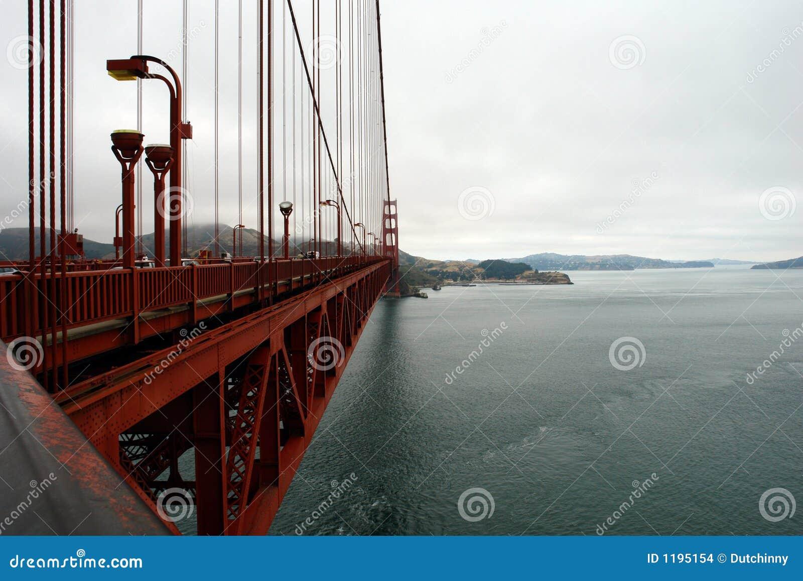 Golde строба детали моста