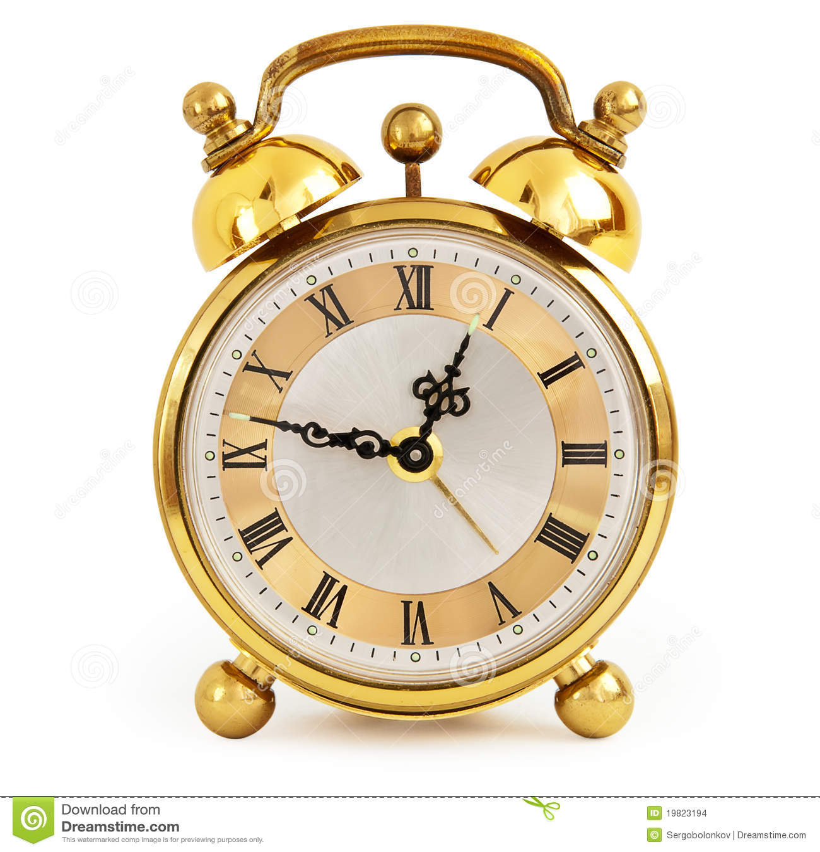 golden alarm clock stock photo image of retro  golden Sundial Art Sundial Art