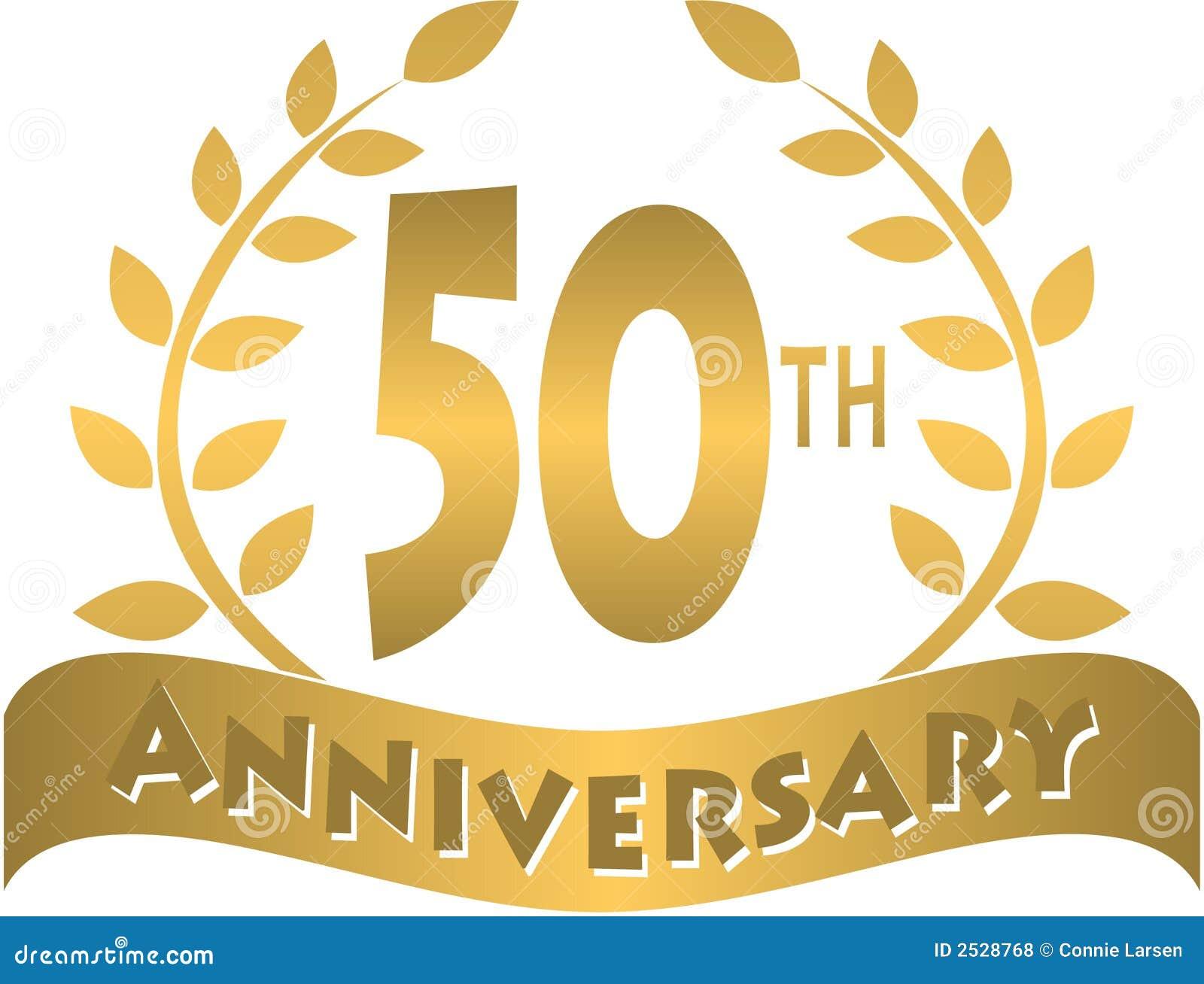 golden anniversary banner eps stock vector illustration of banner