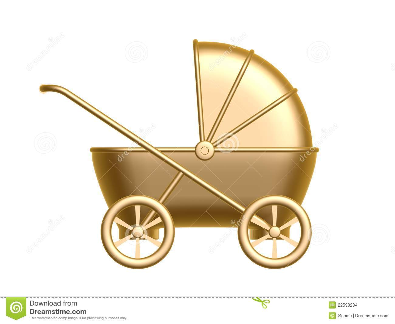 golden baby carriage stock illustration illustration of pink baby buggy clipart baby buggy clip art vintage baby