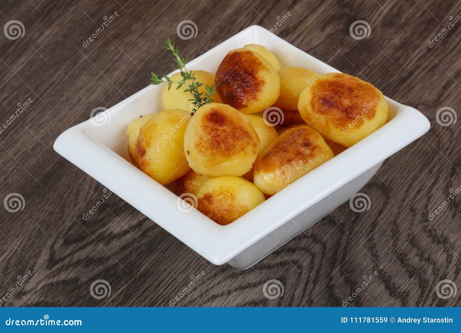 Golden backed potato