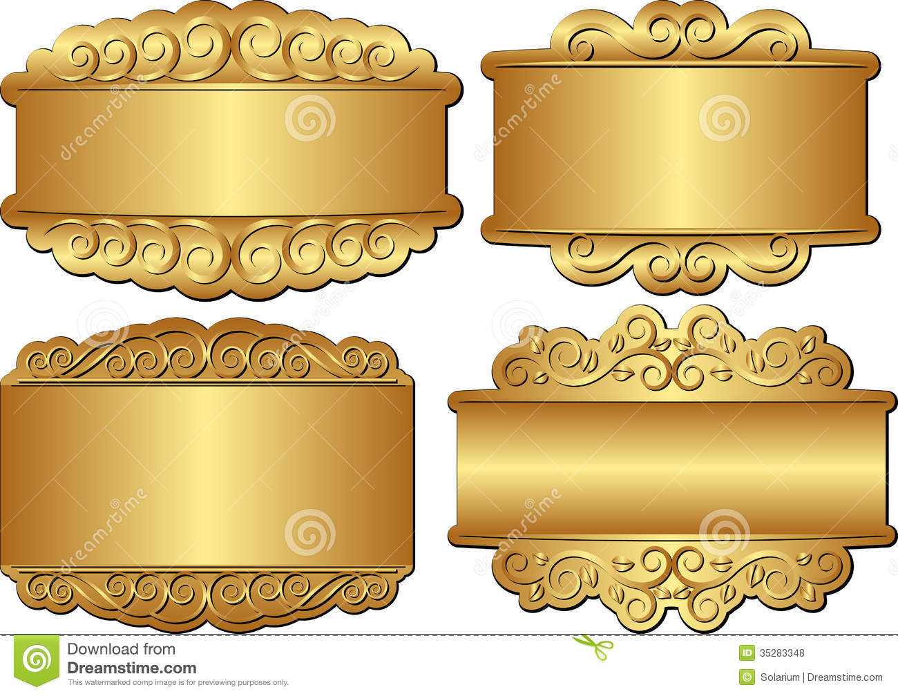 394998432 also Scrap Digital Quick Pages Cluster moreover Flower Vector Free together with Images About D Textures On Wood Texture furthermore Royalty Free Stock Photos Golden Banners Set Ornamentc Image35283348. on decorative designs clip art