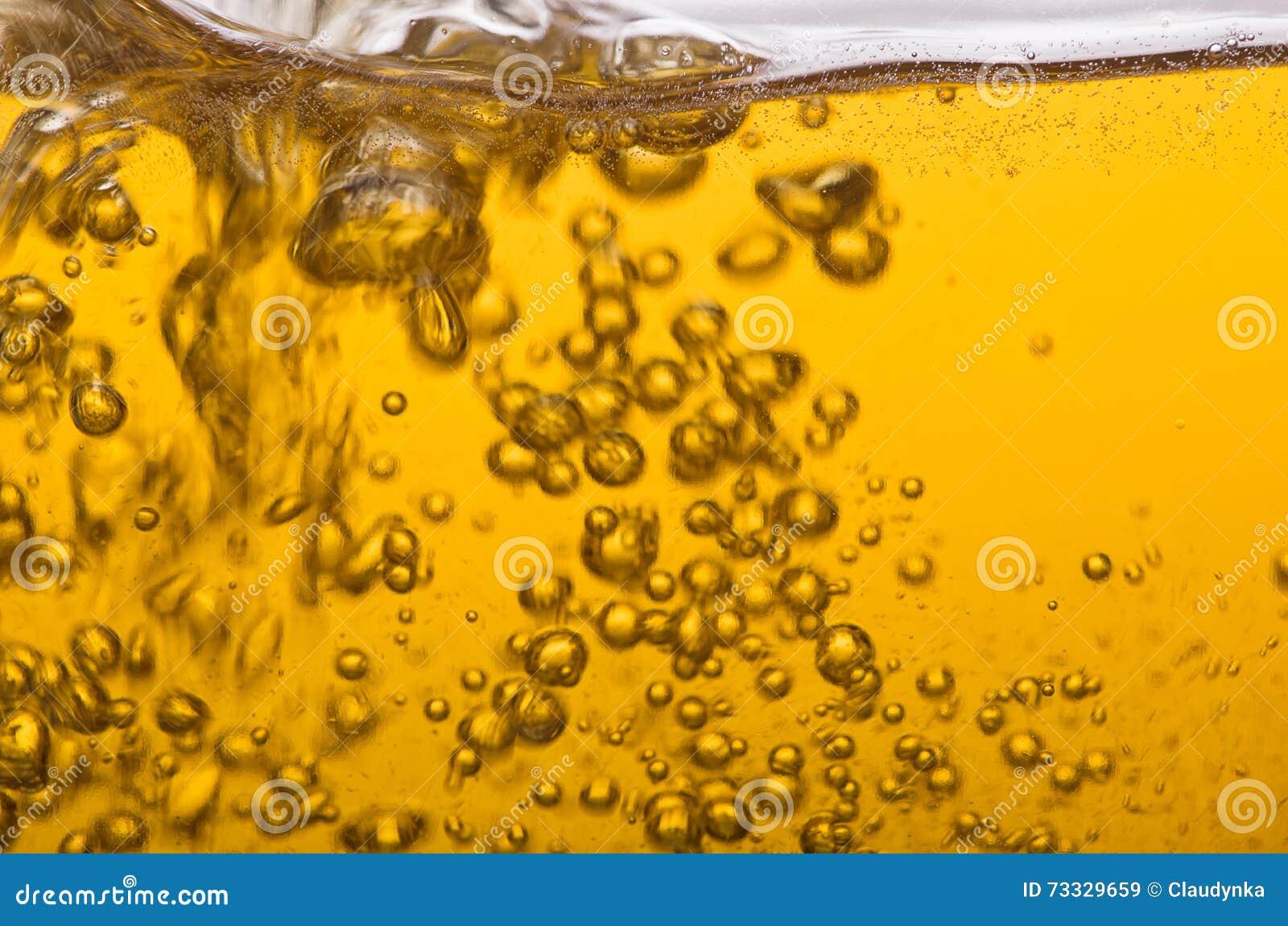 Golden beer.