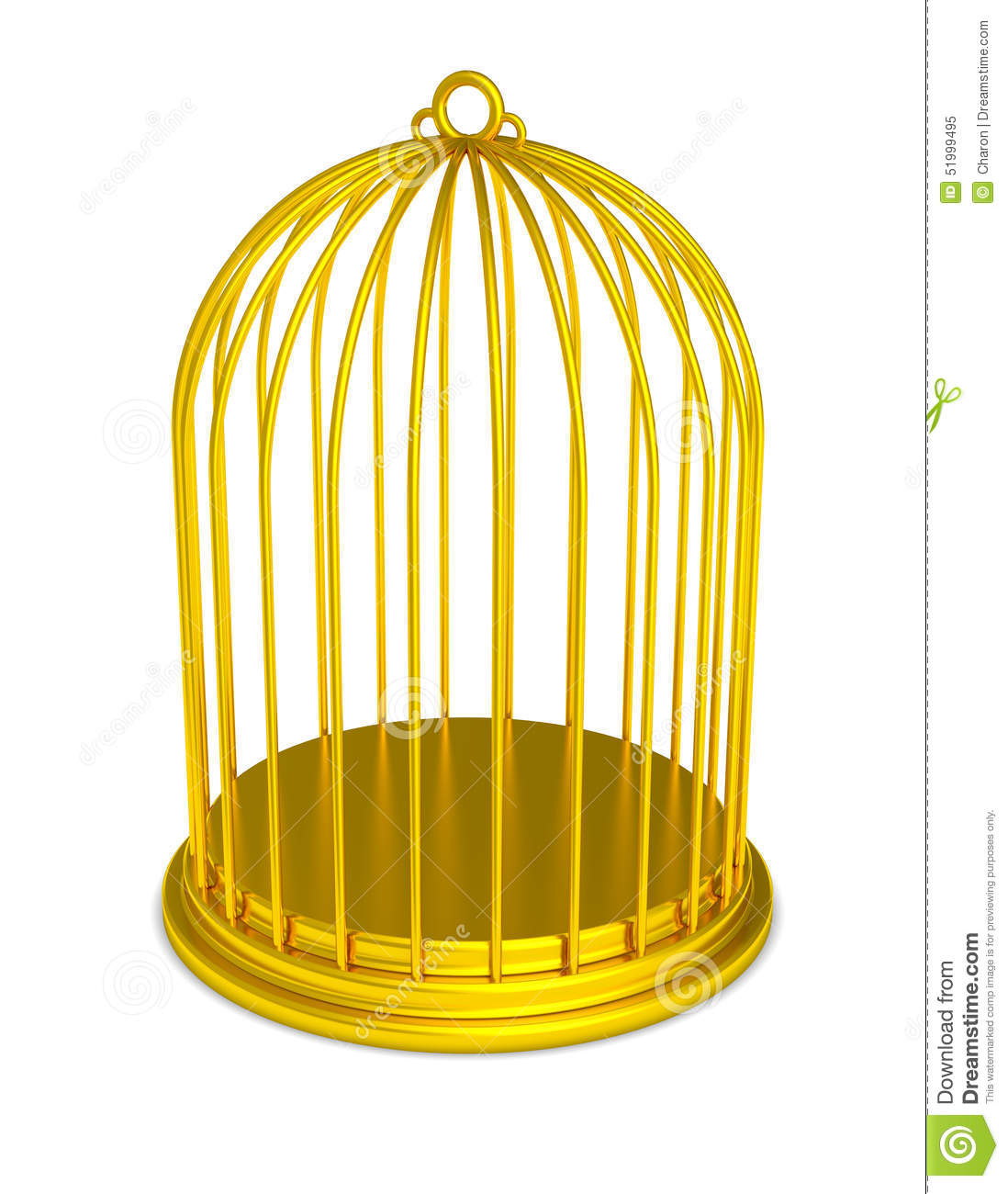 golden birdcage gold prison isolated stock image open jail cell clipart Jail Cell Door Clip Art