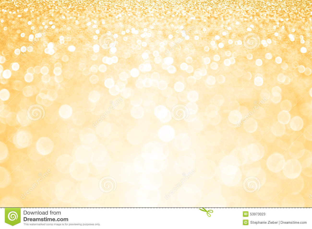 Gold Glitter Confetti Party Background Stock Illustration ...