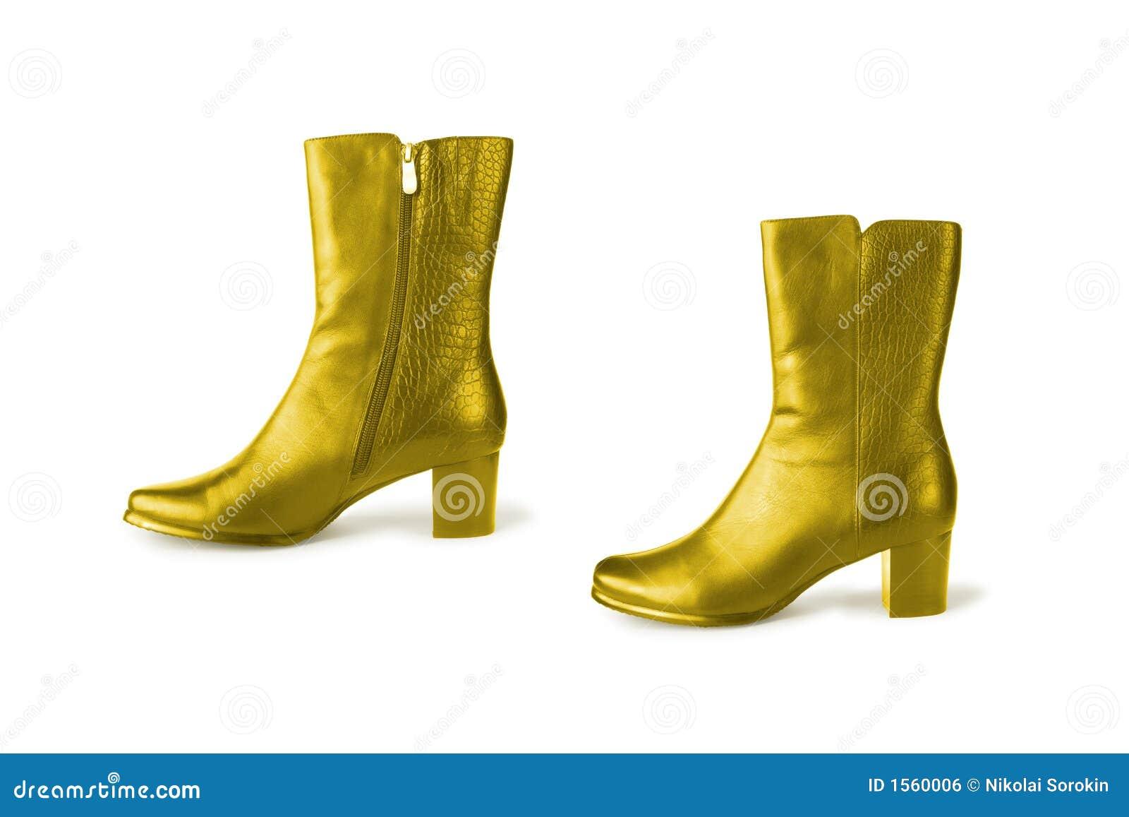Golden boots