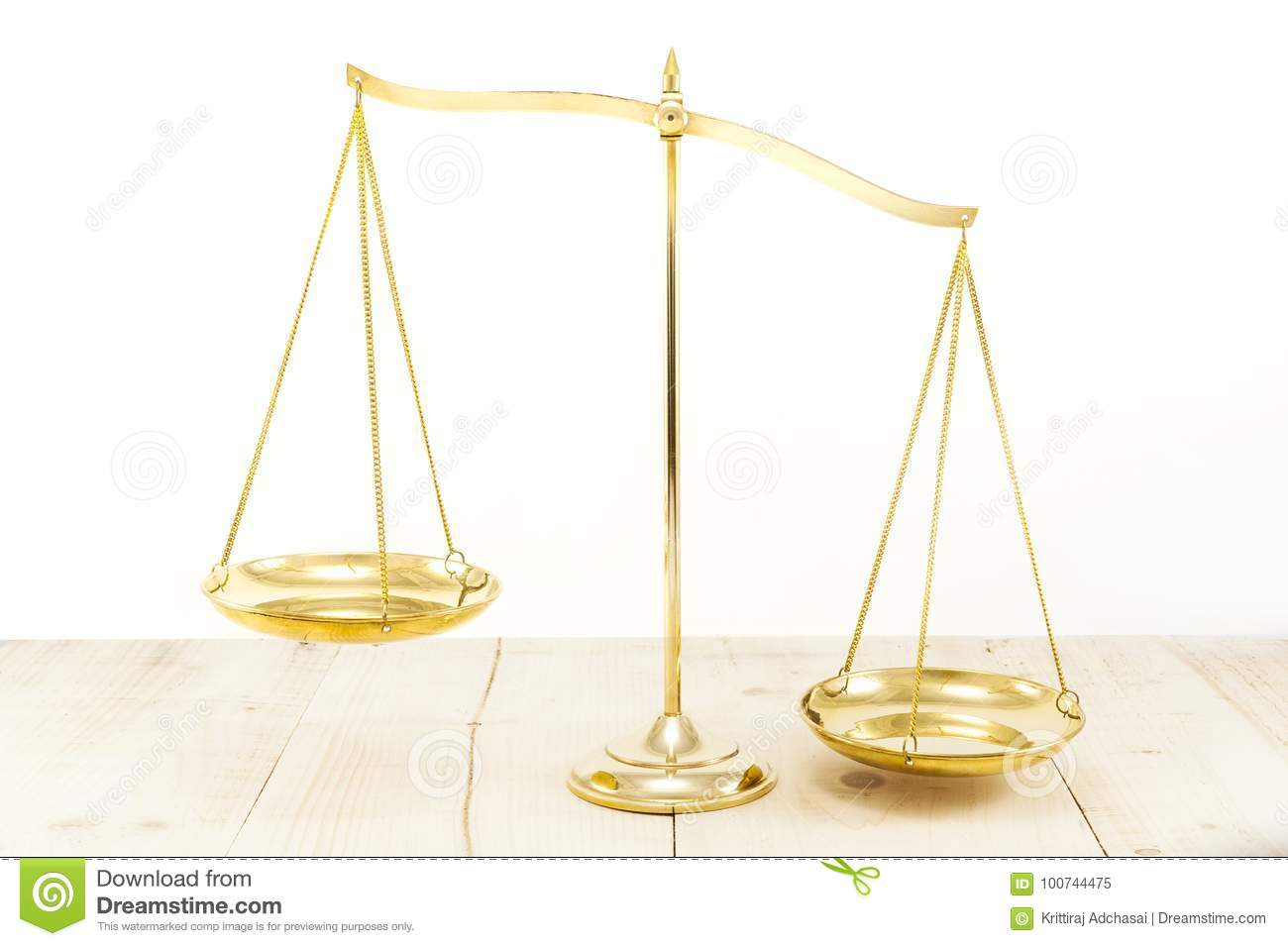 Golden brass balance stock image image of court equalize 100744475 royalty free stock photo biocorpaavc Images
