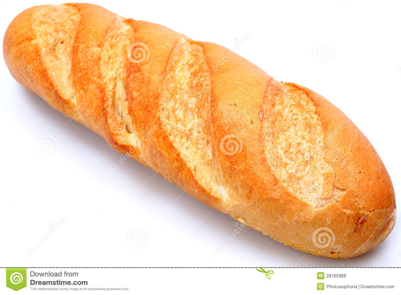 Golden Brown Loaf Of French Baguette Bread Royalty Free Stock Photos ...