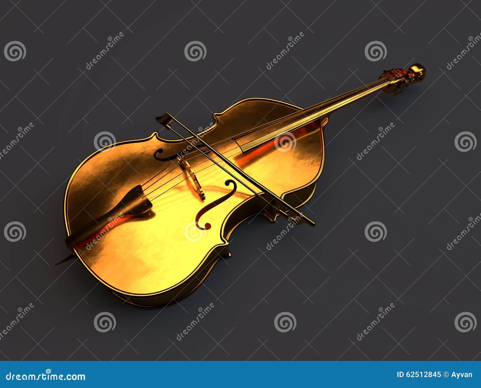 Cello cartoon cello player stock photography image 32561422 - Golden Cello Isolated On White Royalty Free Stock Photo