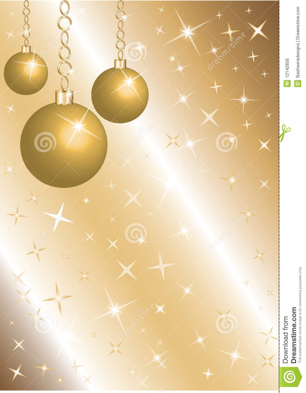 golden christmas background with - photo #23
