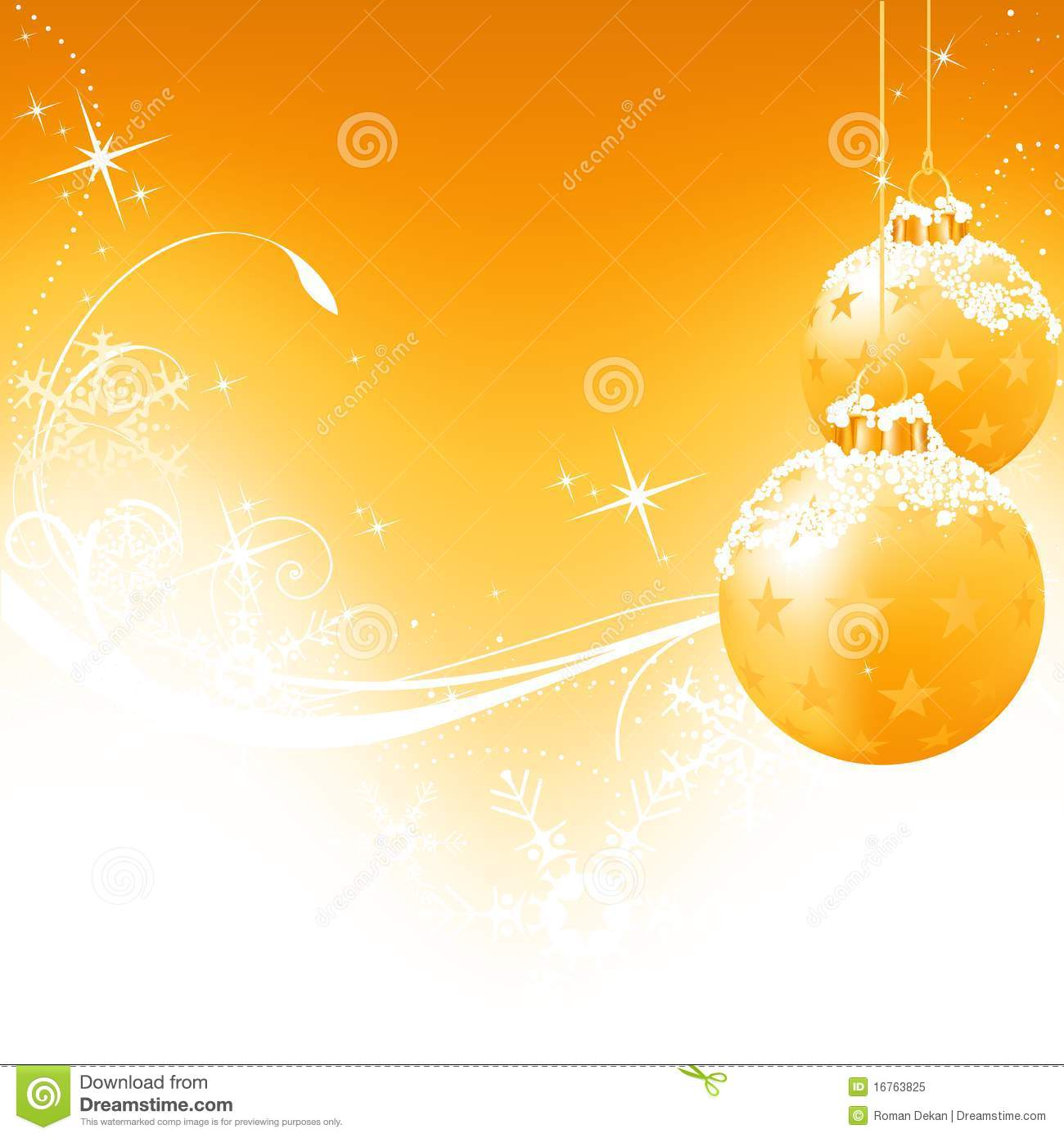 golden christmas background with - photo #34