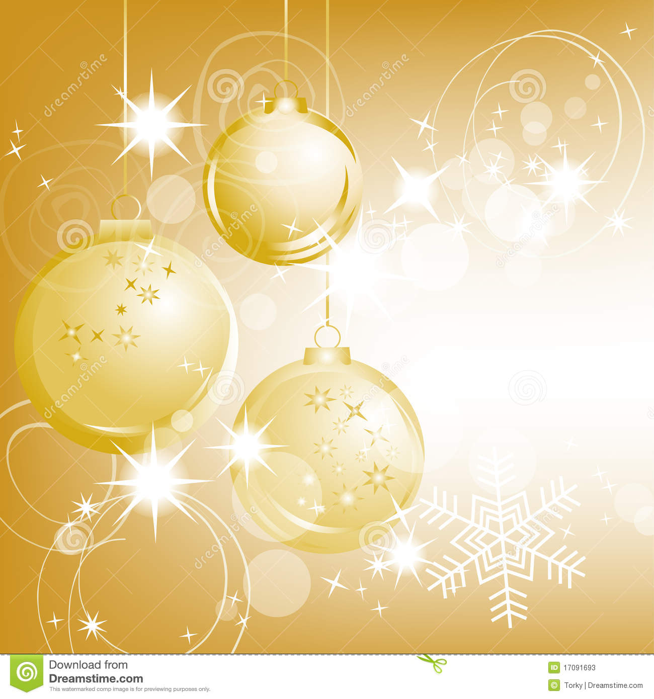 golden christmas background with - photo #32