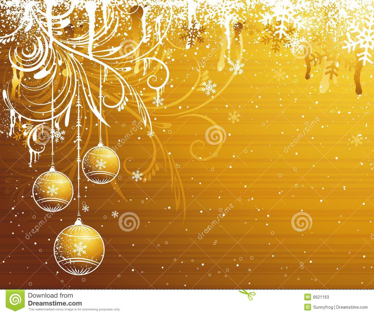 golden christmas background with - photo #15