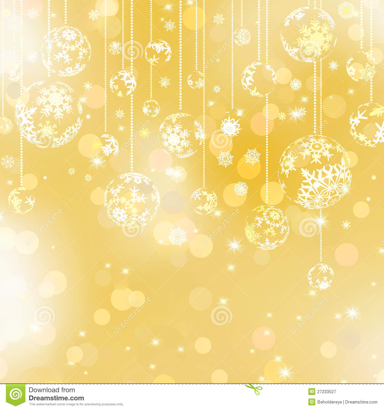 golden christmas background with - photo #12