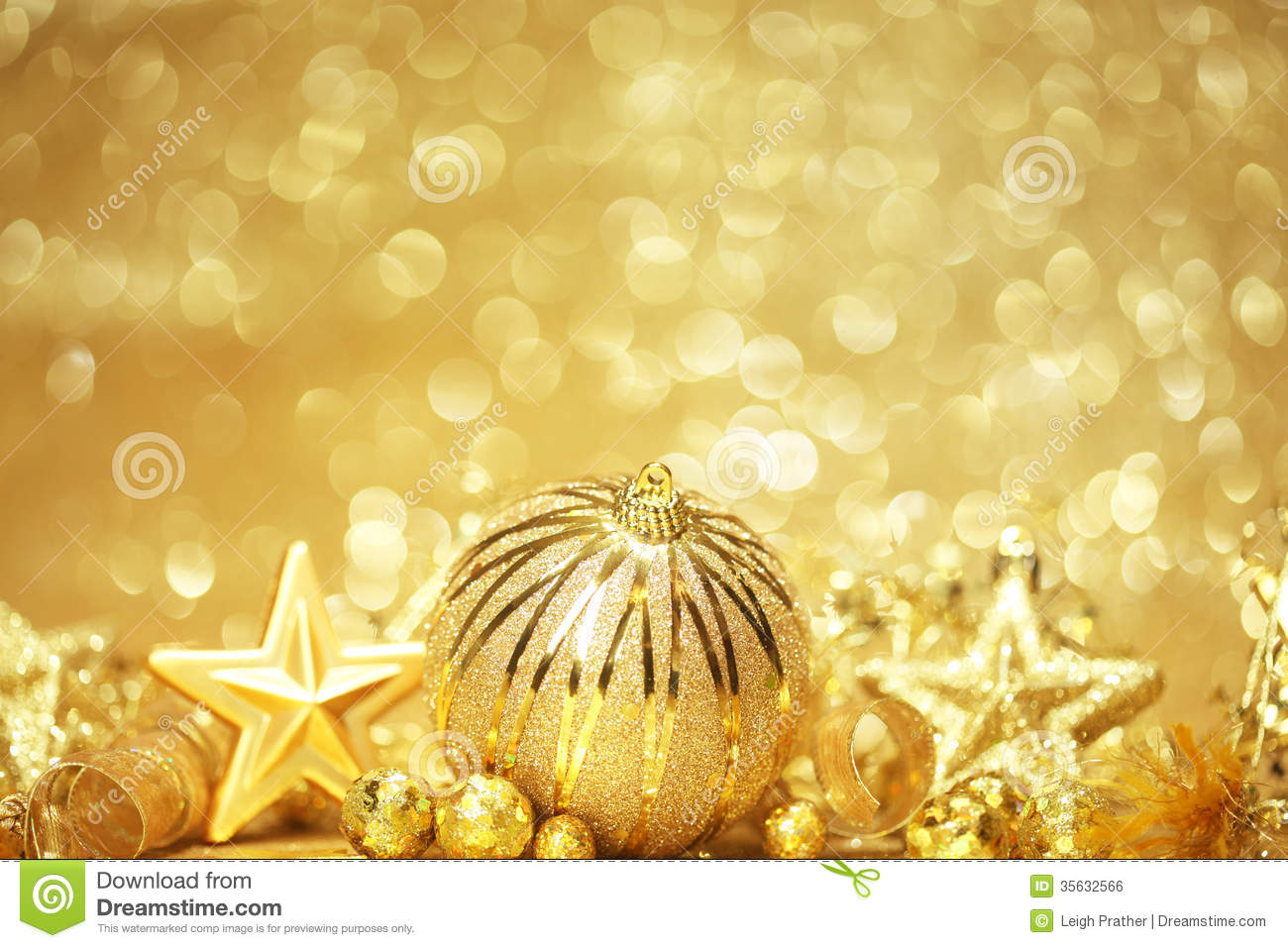 golden christmas background with - photo #20