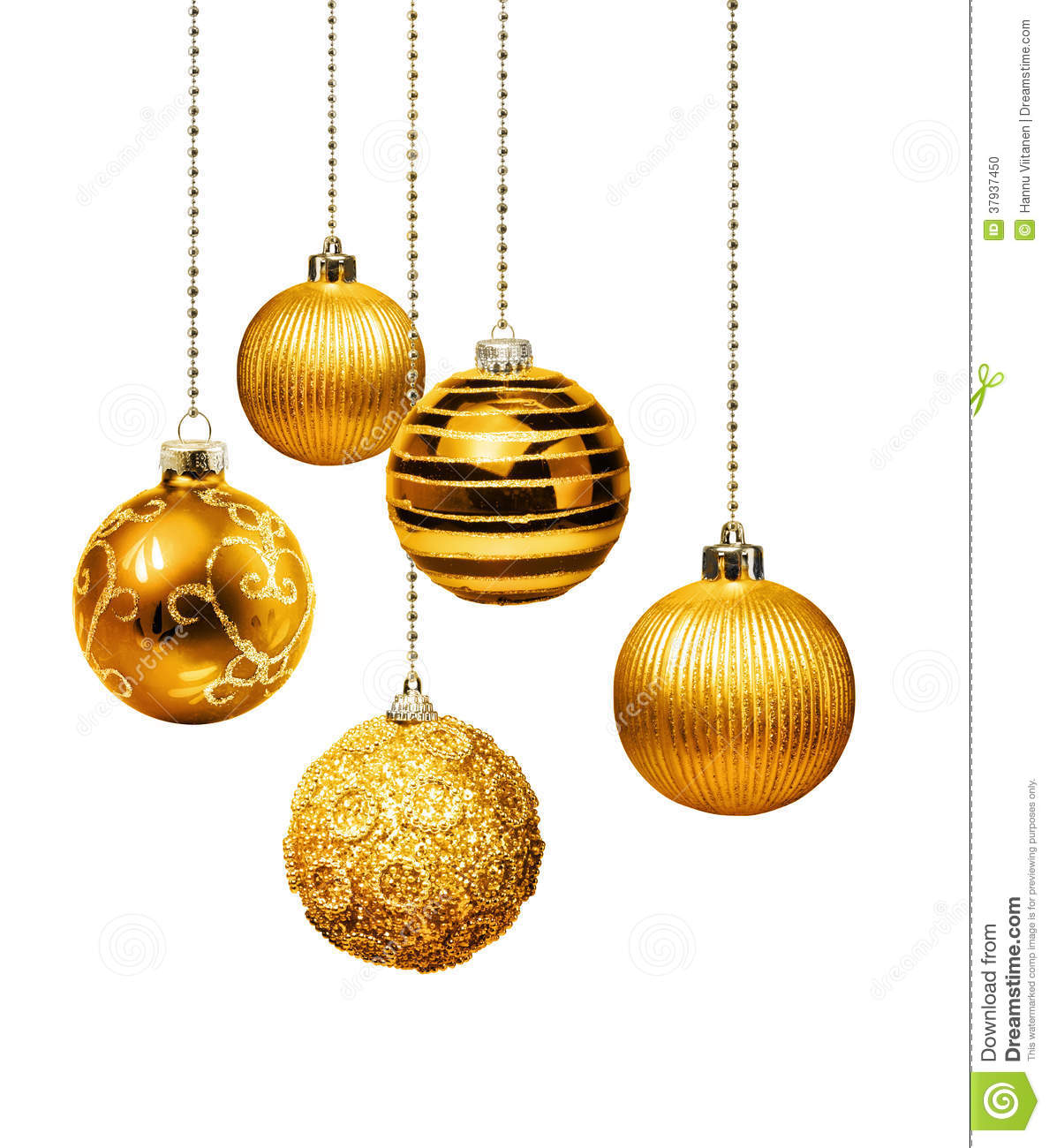 Hanging Christmas Light Balls