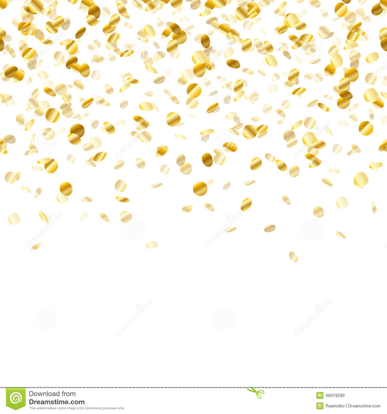 gold party vector - photo #13