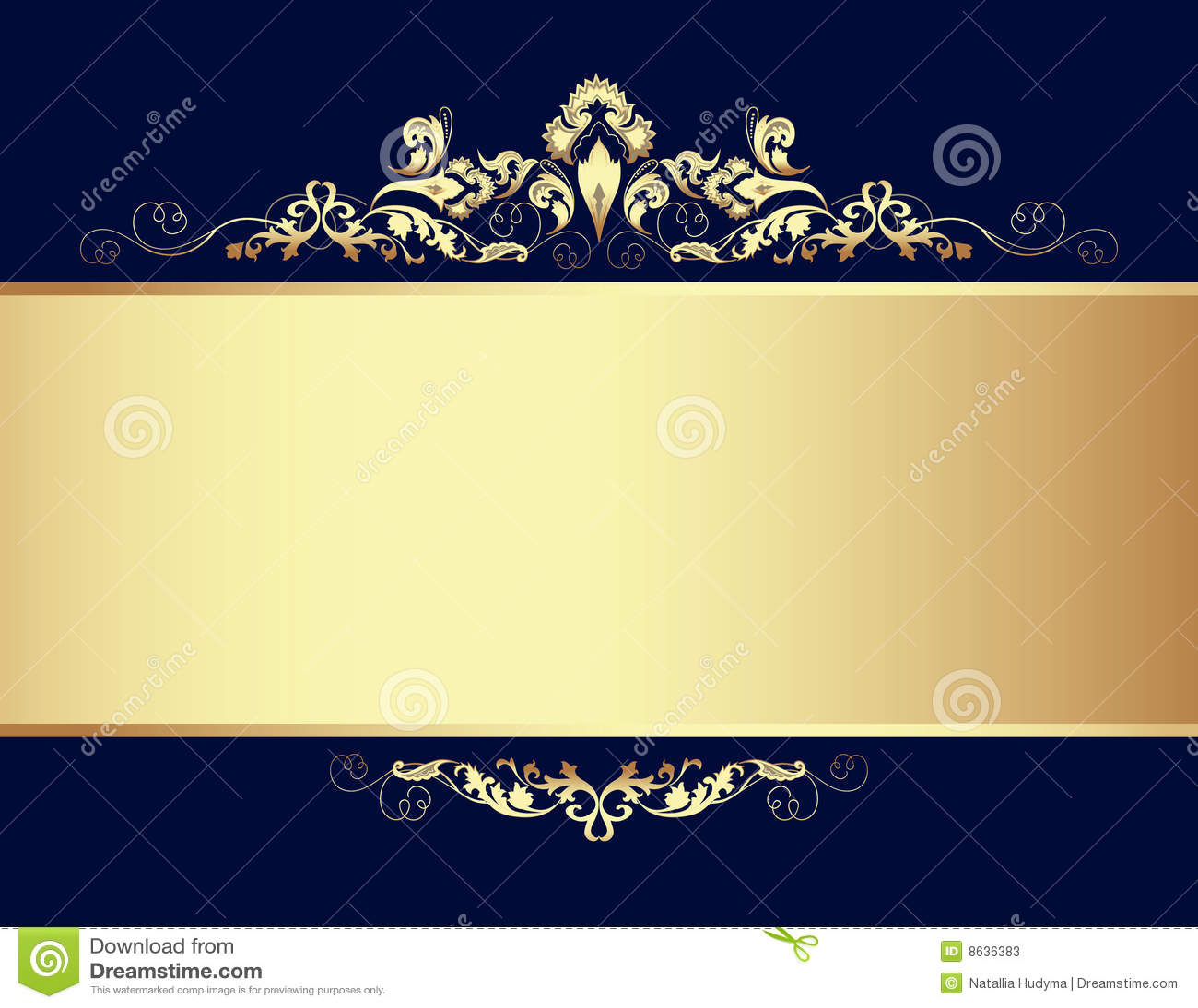 Golden Design Background. Stock Photos - Image: 8636383