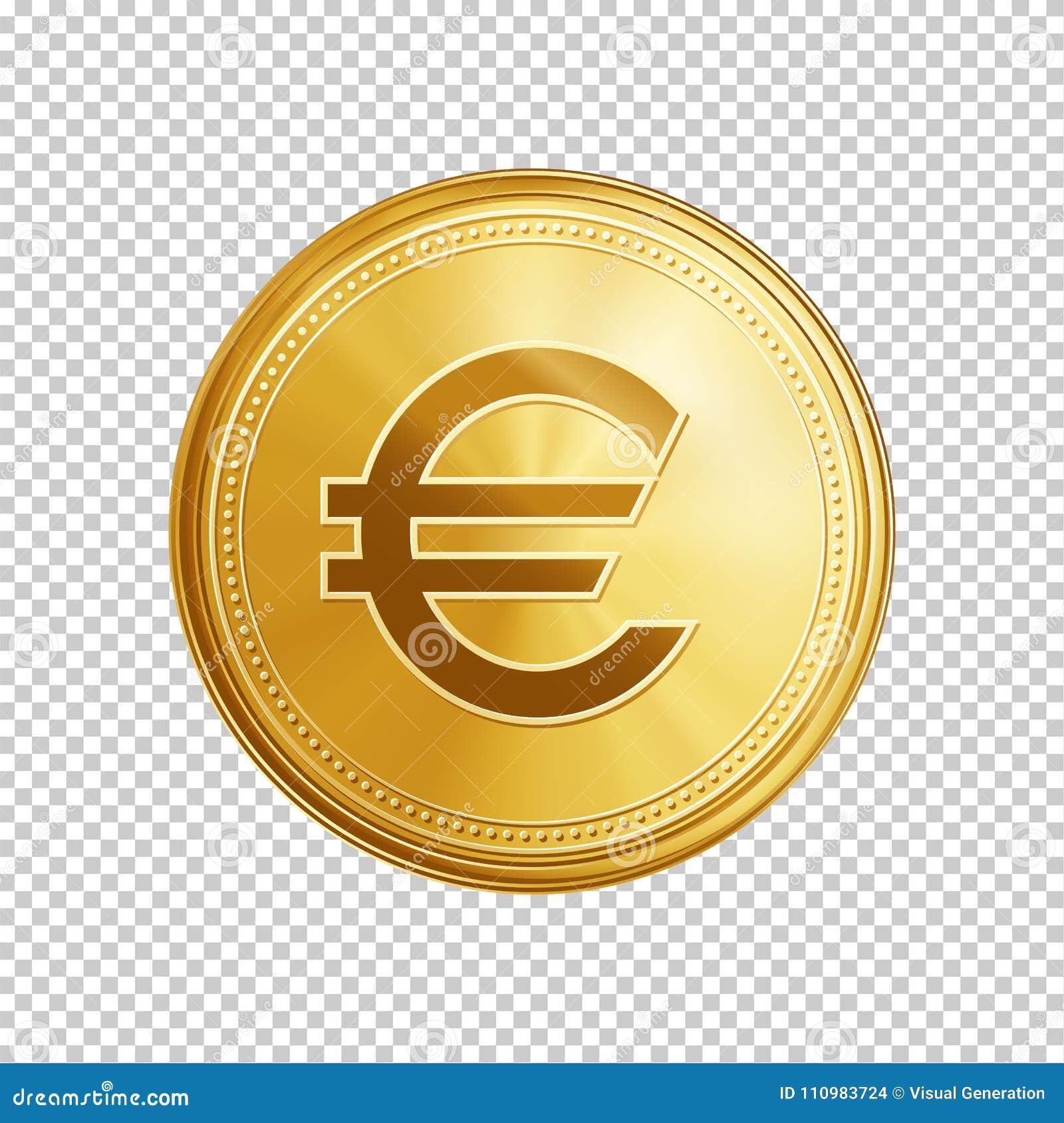 Golden euro coin symbol stock vector illustration of finance golden euro coin symbol biocorpaavc Choice Image