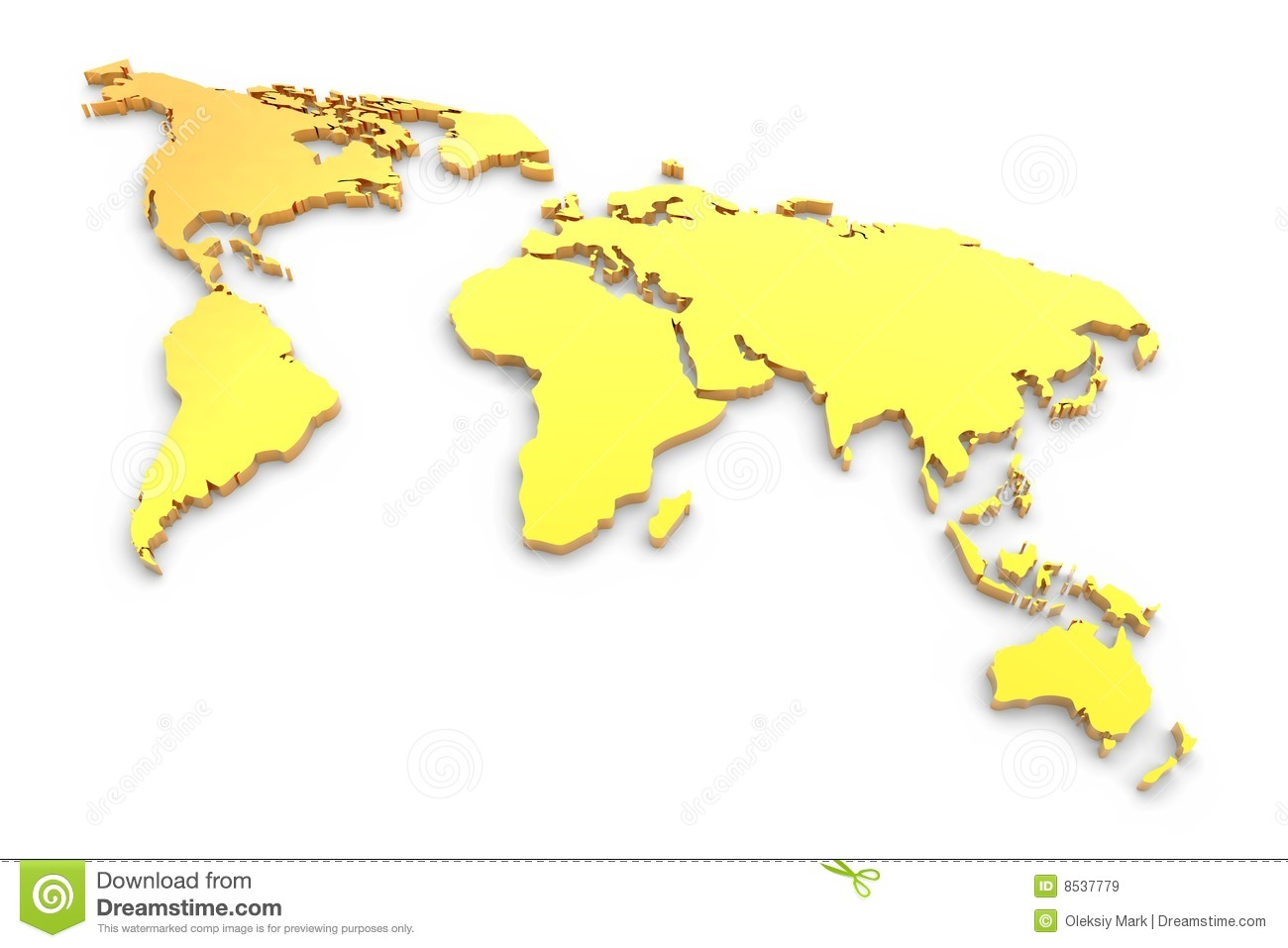 Golden extruded world map stock illustration illustration of golden extruded world map royalty free stock photo gumiabroncs Images