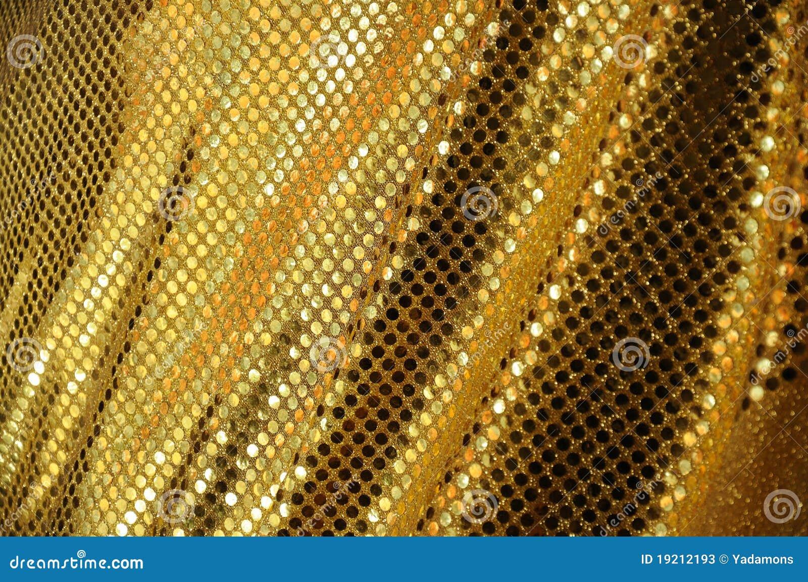 Golden Fabric Luxury Stock Photos Image 19212193
