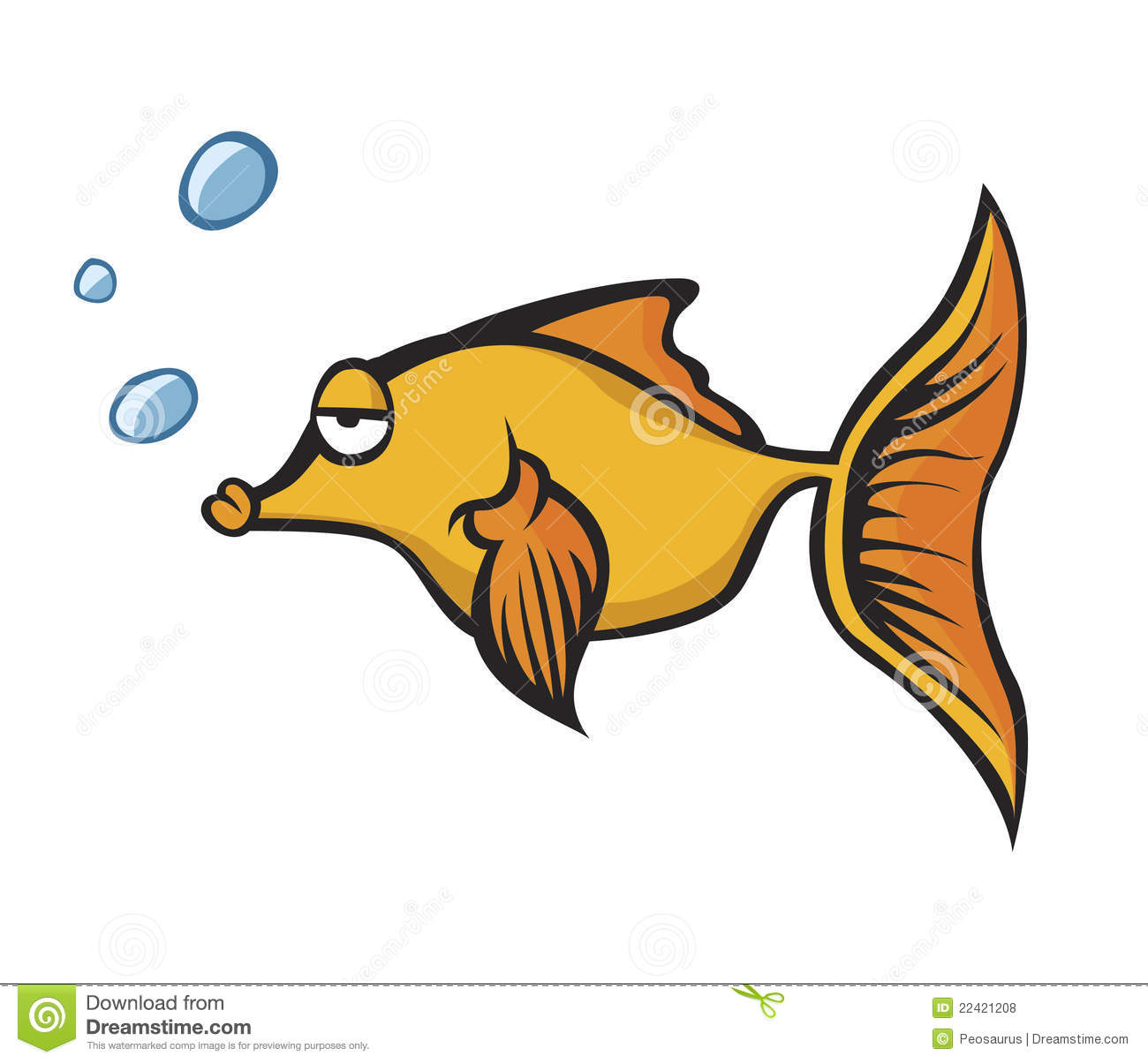 Golden fish royalty free stock photos image 22421208 for What fish has eyelids