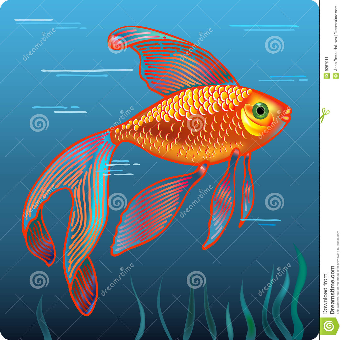 Golden fish stock image image 9267011 for Ok google plenty of fish