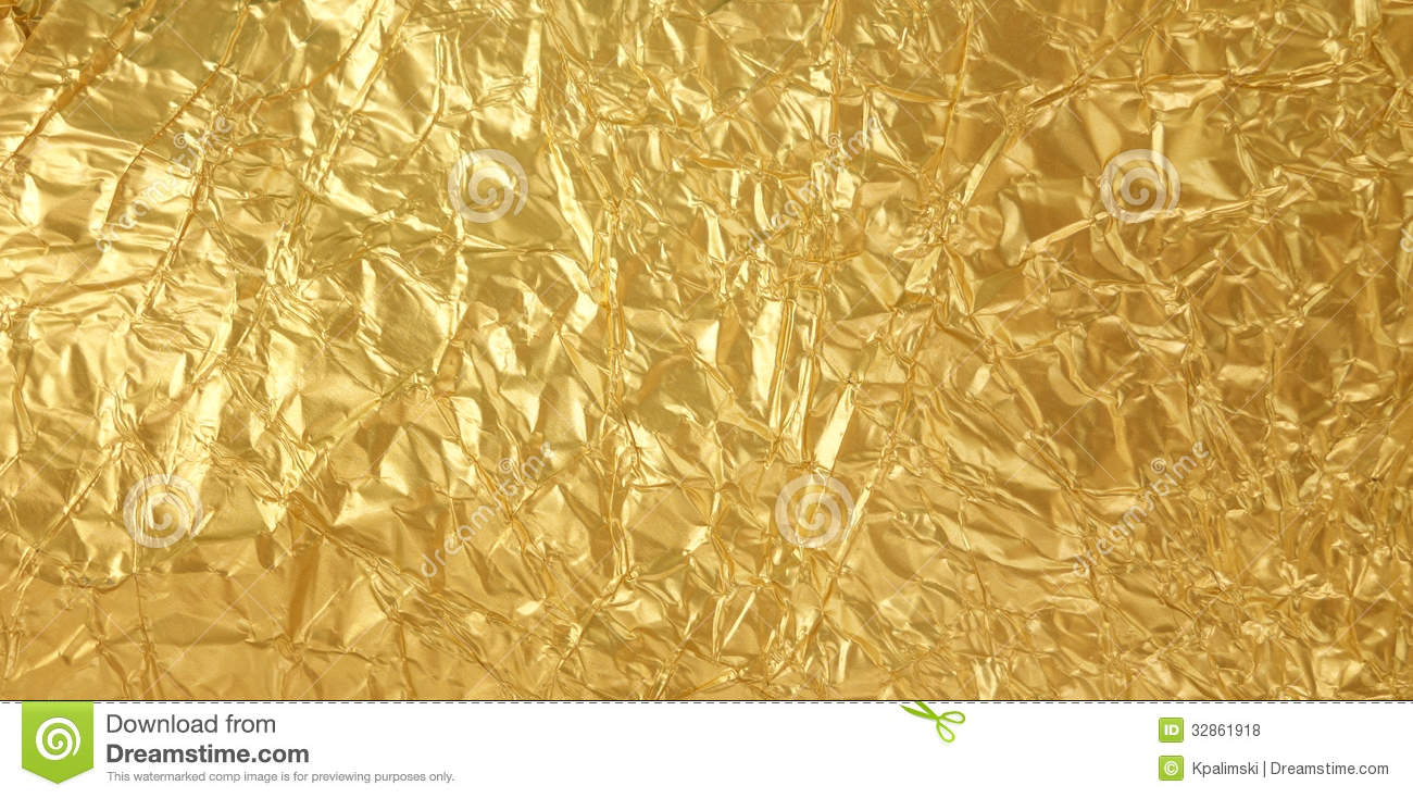 Golden Foil Texture Stock Photo Image Of Pattern Shiny