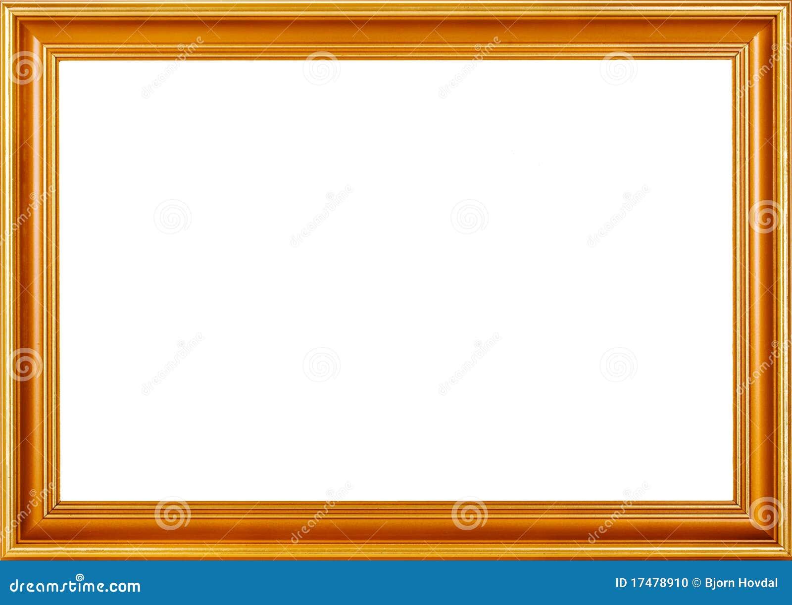Golden Frame Stock Photo  Image: 17478910