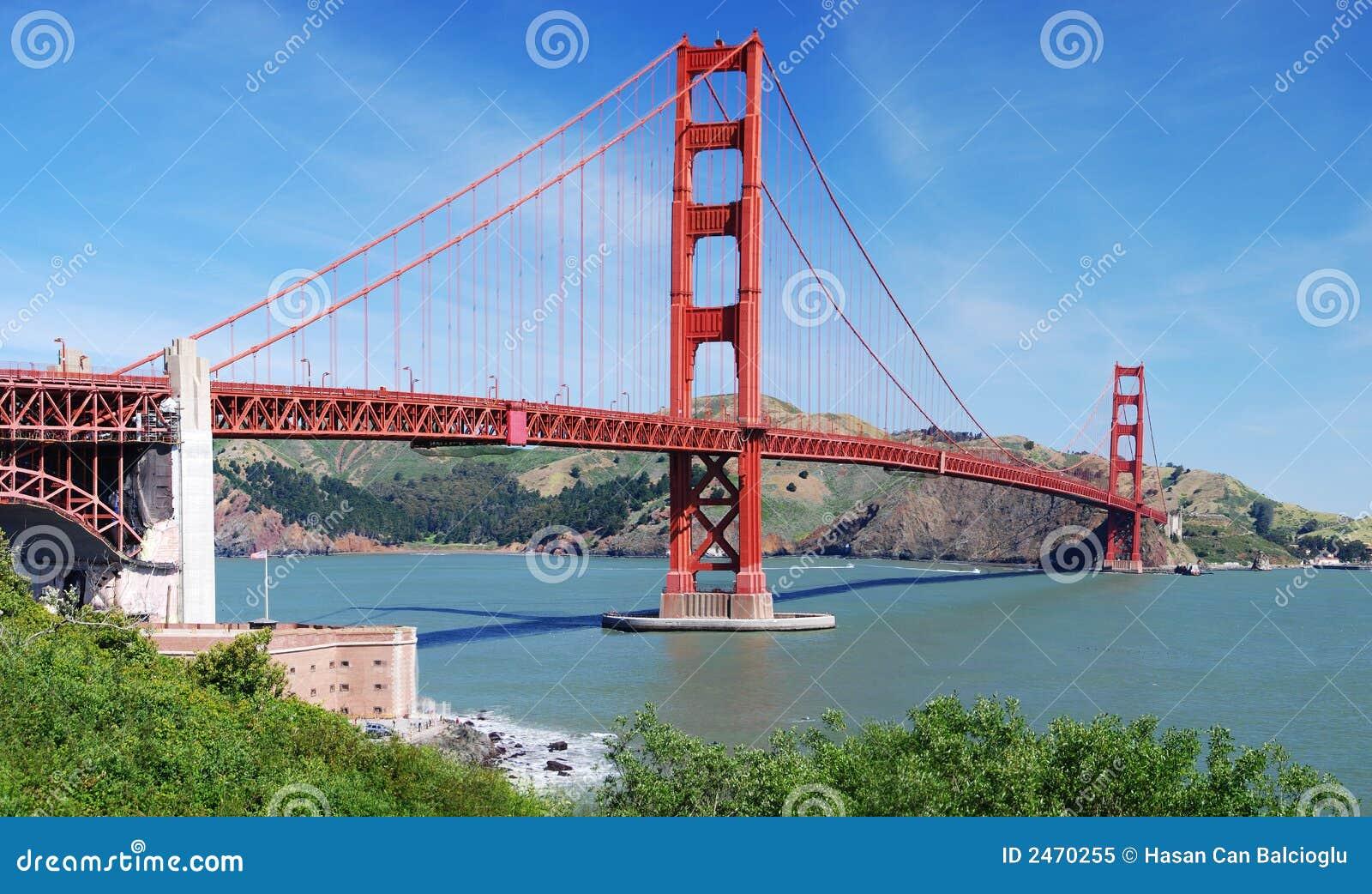 golden gate bridge san franci royalty free stock photo image 2470255. Black Bedroom Furniture Sets. Home Design Ideas
